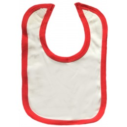 customize your red trim bib