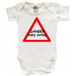 DANGER BABY EATING